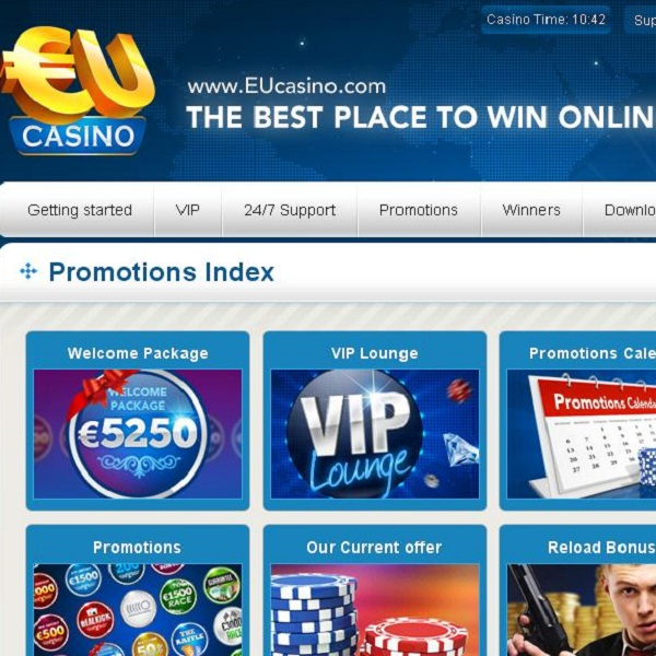 EU Casino's Happy Hour Day Offers Unlimited Deposit Bonuses