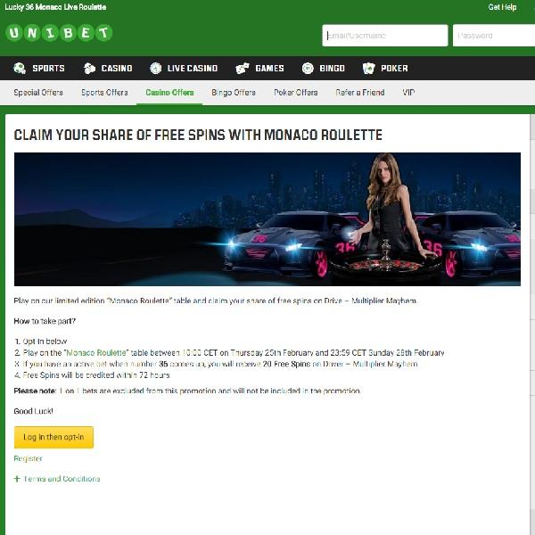 Win Free Spins on Drive: Multiplier Mayhem at Unibet Casino