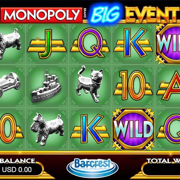 Gala Casino Launches Monopoly: Big Event Slot with £200 Bonus
