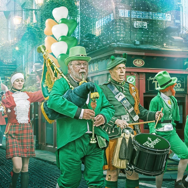 Win a St Patrick's Day Trip to Ireland at Mr Green
