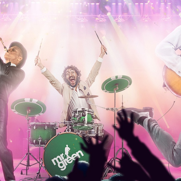 Win Tickets to a UK Music Festival at Mr Green Today