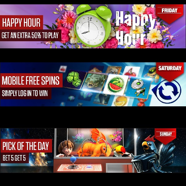 Enjoy Bonuses All Weekend Long at NetBet Casino