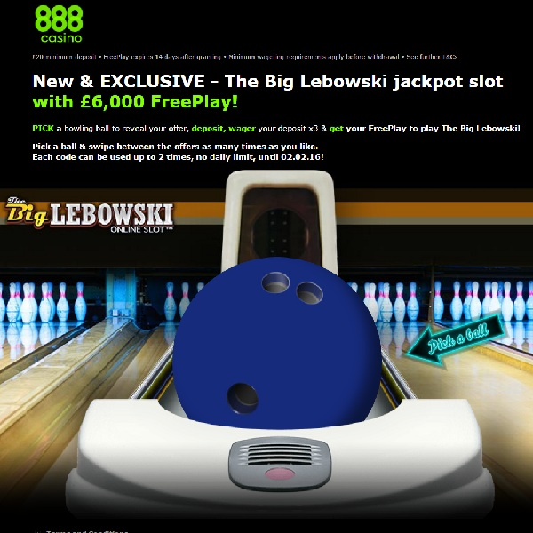 Enjoy up to £6,000 of Free Play at 888 Casino