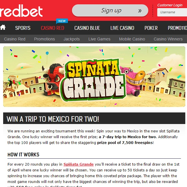 Win a Trip to Mexico at Redbet Casino