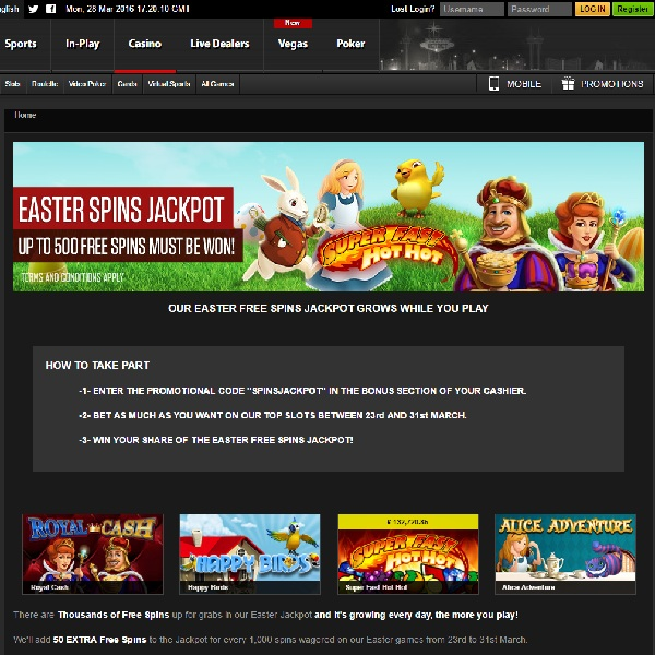 NetBet Casino Offers Free Spins Jackpot to All