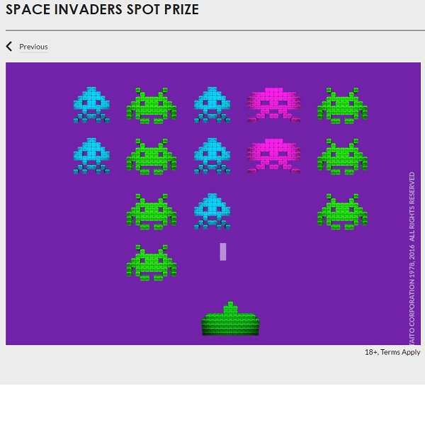 Win a Space Invaders Arcade Machine at Gala Casino