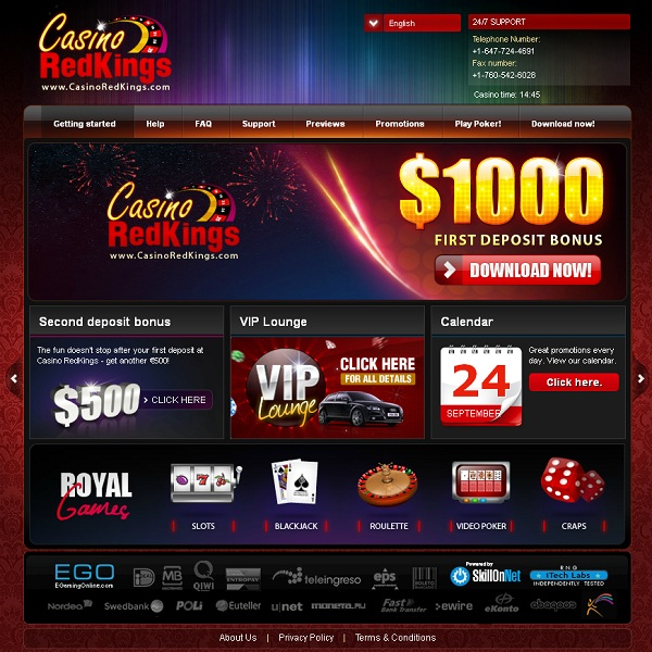 Enjoy Bonus Cash at Casino RedKings All Weekend