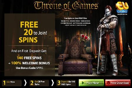 Throne of Games Promotion Gives Players 160 Free Spins