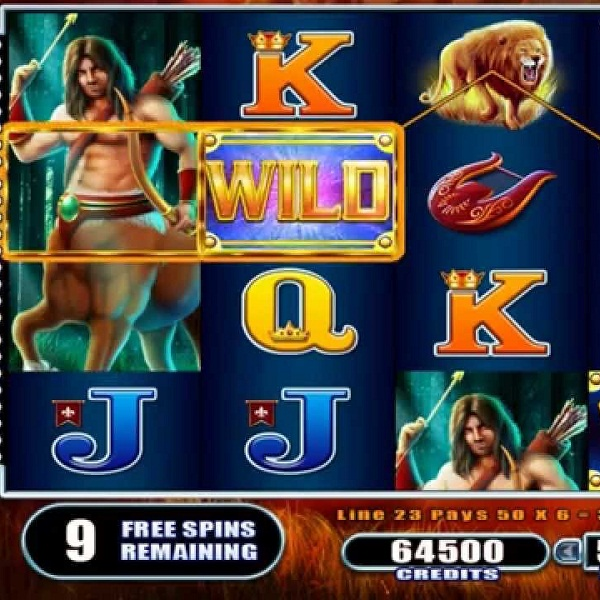 Join the Greeks in WMS Gaming's Centaur Slots