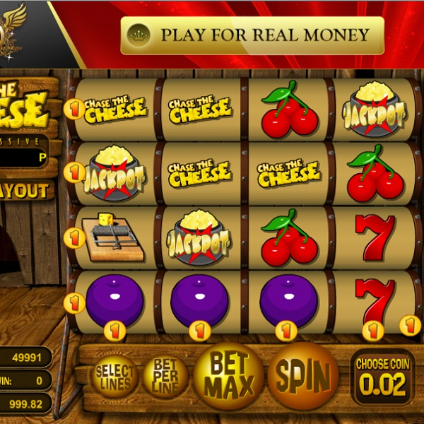 Chase the Cheese Video Slots at Jetbull Casino Offers €18K