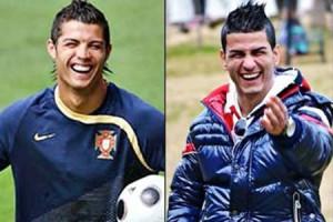 Christiano Ronaldo and Gökmen Akdo?an