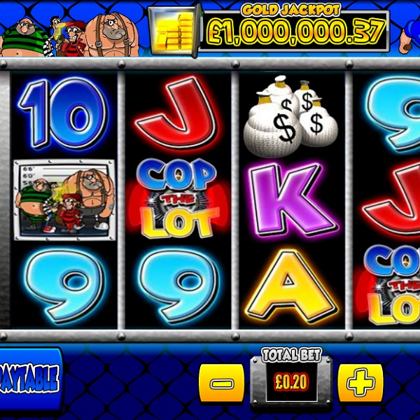 Betfair Casino Cop the Lot Video Slot Jackpot Approaches £89K