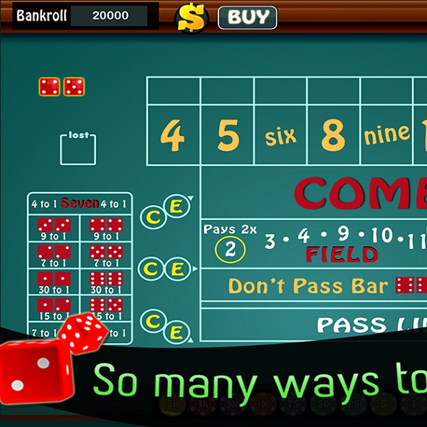 Hydraulic Games' 6-8 Craps Offers Realistic Gameplay