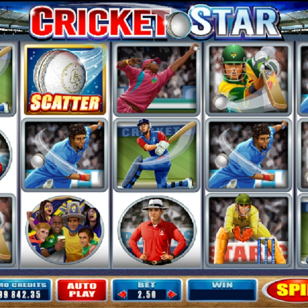 Microgaming's Cricket Star Slot is Batting For a Win