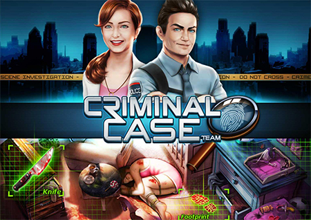 Criminal Case is Second on Facebook's Most Played List