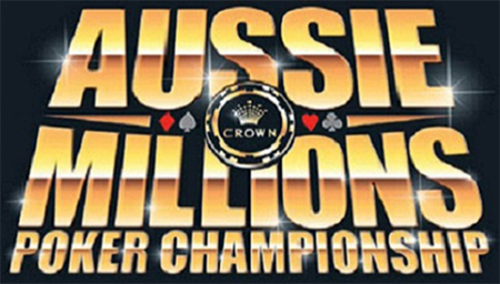 Crown Published Details for the 2014 Aussie Millions Championship