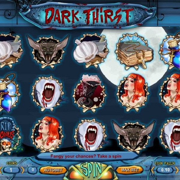Experience the Undead in 1x2gaming's Dark Thirst Slot