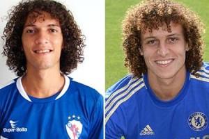 David Luiz and Davi Luis