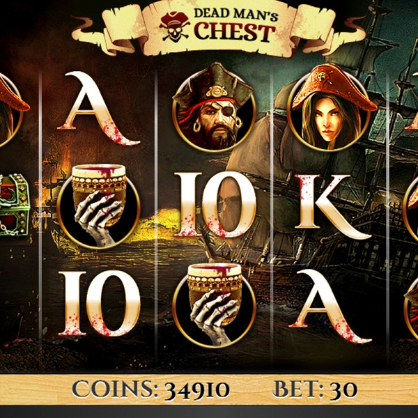 Betfair Casino's Dead Man's Chest Video Slot Approaches £16K