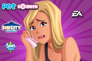 EA to Shut Down Three Facebook Games Titles