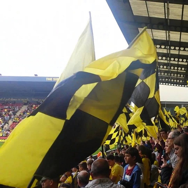 Watford and Manchester United will play their thirteenth match of the Premier League season on Saturday, 21st November at 12:45 at the Vicarage Road Stadium.