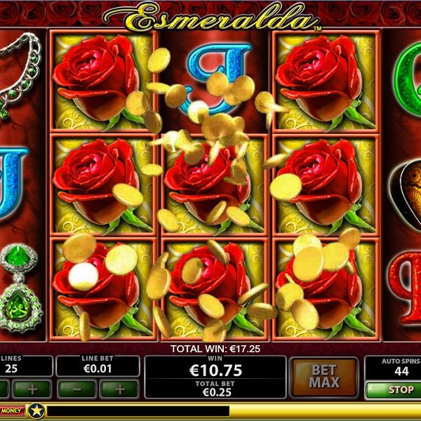 $77K Esmeralda Video Slots Jackpot Available at Titanbet Casino