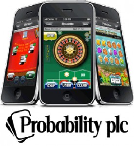 According to analysts, the company Probability, which specialises in mobile online gambling, are doing extremely well.
