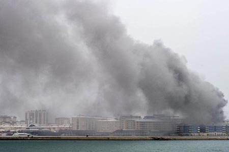 Fire in Gibraltar Brings Down Online Gambling Firms