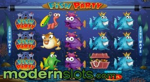 Fish Party Slot Is Microgaming's Newest Release