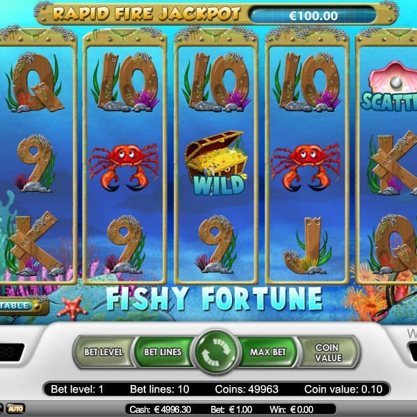 Fishy Fortunes Progressive Slot at Mr Green Reaches €1.6M