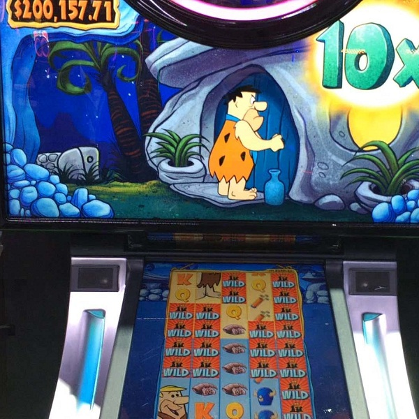 Flintstones slot big win