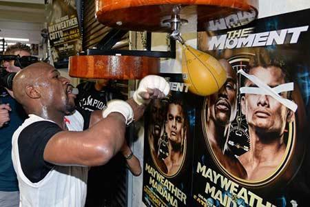Floyd Mayweather and Marcos Maidana Ready for May 3rd Showdown
