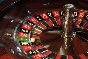 An in-game image of a roulette