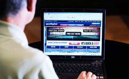 Gambling Problems Can Be Detected from Online Behaviour