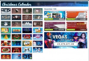 William Hill Casino has is fully into the Christmas spirit with some excellent bonuses available every day of December.