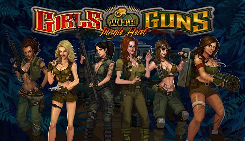 Girls with Guns – Jungle Heat Slots