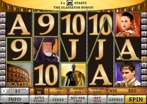 Gladiator Online Casino Jackpot Reaches One Million Euros