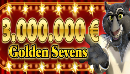 Golden Sevens Progressive Jackpot Reaches €3 million