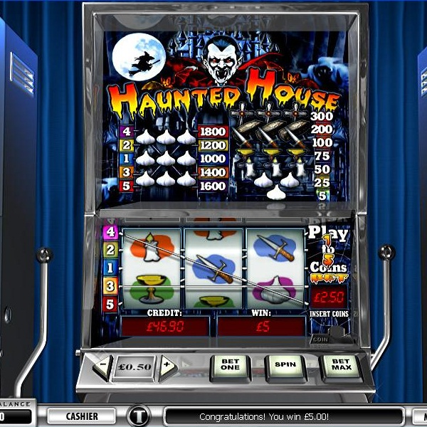 €155K Haunted House €5 Jackpot Available at Casino Club