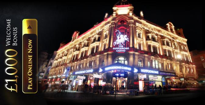 Hippodrome Casino Launches Online