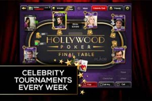 Hollywood Poker Launches Celebrity Slots Tournaments