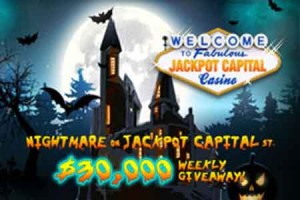 Jackpot Capital to Give Away $135,000 in Halloween Promotion