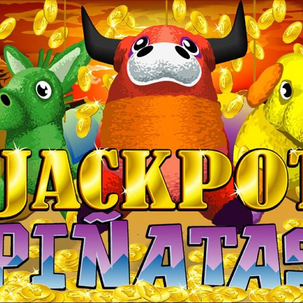 $1.7M Progressive Jackpot for Jackpot Piñatas Slot at Aladdin's Gold Casino
