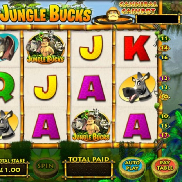 Jungle Bucks Video Slots at Betfair Casino Approaches £11K