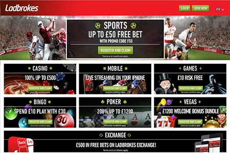 Ladbrokes Launches Live Dealer Games and New Promotions