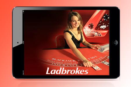 Ladbrokes Releases Mobile Live Dealer Games