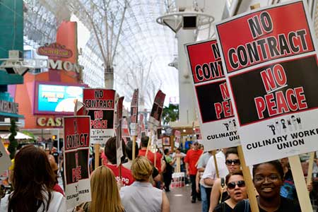 Las Vegas Culinary and Bartenders Union Threatens Strike