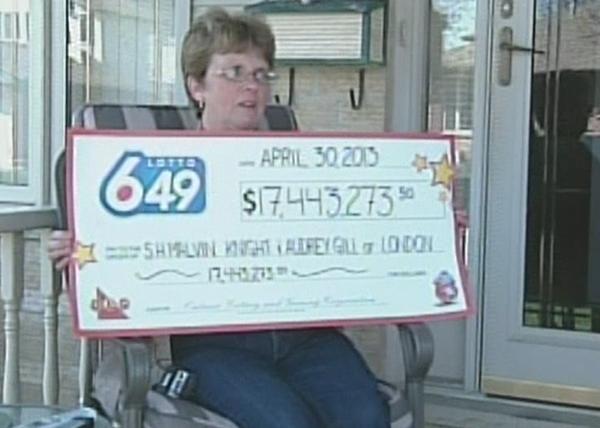 London $17.4 million Lottery Winners Plan to Escape Town