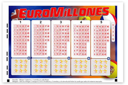 EuroMillions has a €21 Million Jackpot to be Won This Tuesday