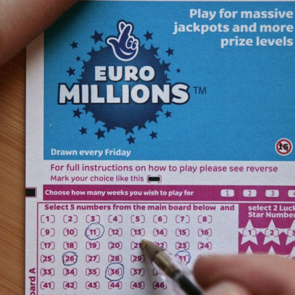 €40M EuroMillions Results for Tuesday February 17